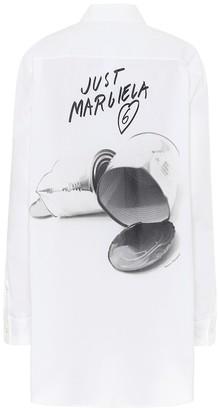MM6 MAISON MARGIELA Oversized cotton shirt