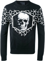Philipp Plein Benkei jumper - men - Nylon/Polyester/Acetate/Merino - M