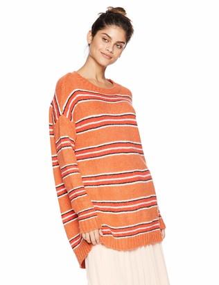 For Love & Lemons Women's Charlie Striped Sweater Dress Medium
