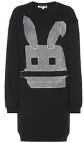 McQ by Alexander McQueen Embroidered Cotton Sweater Dress