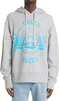 Gucci Disk Logo Men's Graphic Hoodie