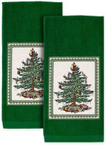 Spode Tree Kitchen Towels in Green (Set of 2)