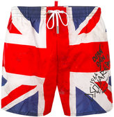 DSQUARED2 Union Jack swim shorts - men - Polyamide - 46