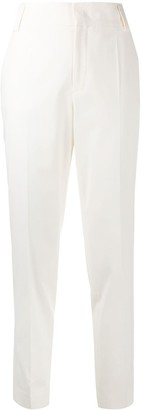 RED Valentino Buckle-Detail Slim-Fit Trousers
