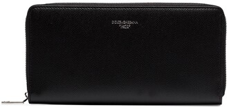 Dolce & Gabbana Zipped Continental Wallet