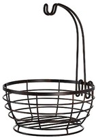 Pfaltzgraff Expressions Grange Wire Fruit Basket with Removable Hook