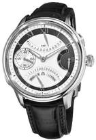 Maurice Lacroix Men's MP7218-SS001110 MasterPiece Silver and Grey Frame Dial Watch