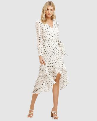Cooper St Palma Long Sleeve Frill Dress