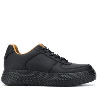 Emporio Armani Lace-Up Low-Top Sneakers