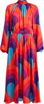 Rhode Resort Mai Printed Crepe Dress