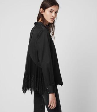 AllSaints Iris Lace Shirt