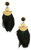 Lizzie Fortunato Women's Eagle Earrings