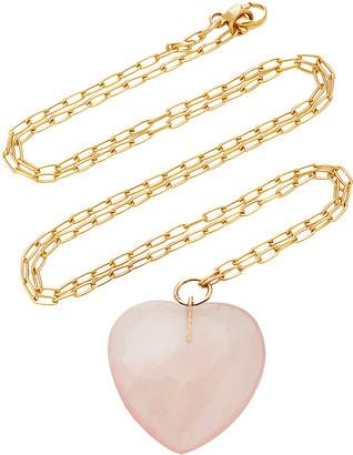 Haute Victoire 18K Gold And Quartz Necklace