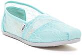 Toms Classic Lace Alpargata Slip-On Flat