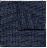 Oliver Spencer - Cromer Cotton-jacquard Pocket Square