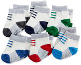 Carter's 6-pk. Striped Socks - Baby Boys newborn-24m