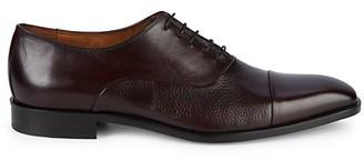 Massimo Matteo Classic Leather Oxfords