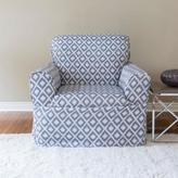 Sure Fit Ikat Modern Home Collection 1-Piece Relaxed Fit Chair Slipcover