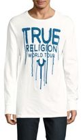True Religion Graphic-Printed Cotton Pullover