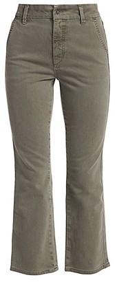 Joe's Jeans Mid-Rise Slim Kick Cropped Trousers