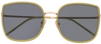 Gentle Monster Bibi OL1 oversized-frame sunglasses