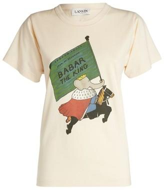 Lanvin Babar Print T-Shirt