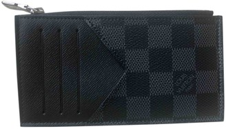 Louis Vuitton Coin Card Holder Anthracite Cloth Small bags, wallets & cases