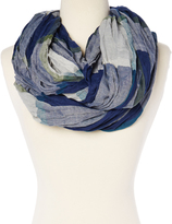 Steve Madden Cool Plaid Infinity Scarf