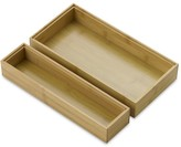 Williams-Sonoma Williams Sonoma Bamboo Drawer Organizers, Set of 2