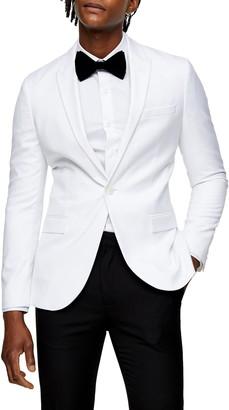 Topman Dax Skinny Fit Blazer