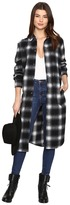 BB Dakota Rivington Plaid Shirt Coat