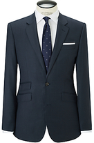 John Lewis Super 120s Wool Birdseye Tailored Suit Jacket, Airforce