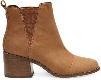 Toms Tan Leather Women's Esme Boots