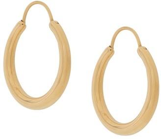 All Blues Medium Hoop Earrings