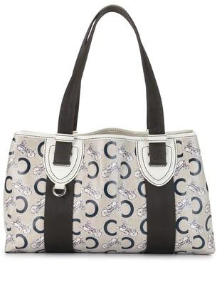 Céline Pre-Owned C macadam pattern handbag