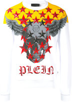 Philipp Plein graphic sweatshirt - men - Cotton - L