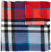 Burberry classic check scarf - kids - Wool - One Size