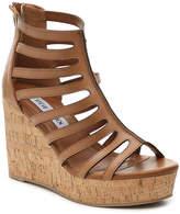 Steve Madden Women's Nilou Wedge Sandal -Cognac