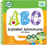 Leapfrog Level 1 Leapstart Alphabet Adventures Spiral-Bound Book