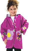Kidorable Purple Butterfly Raincoat - Toddler