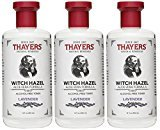 Thayer Alcohol-Free Toner, Lavender, Witch Hazel, 12-Ounces (Pack of 3)