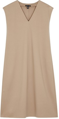 Eileen Fisher Taupe stretch-jersey dress