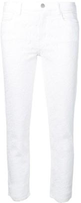 J Brand Floral Embroidered Skinny Jeans