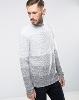 ONLY & SONS Ombre Knitted Sweater
