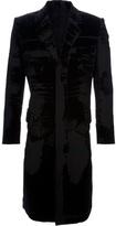 Jean Paul Gaultier Vintage burnt out velvet coat