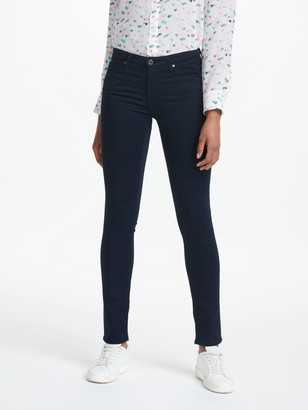 AG Jeans The Prima Mid Rise Skinny Jeans, Midnight Navy