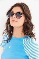Quay Fleur Round Cat-Eye Sunglasses