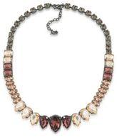 ABS by Allen Schwartz Black Magic Stone Collar Necklace