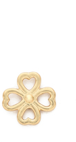 Aurelie Bidermann Mini Clover Stud Earring
