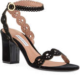 Tabitha Simmons Bobbin Laser-Cut Sandals